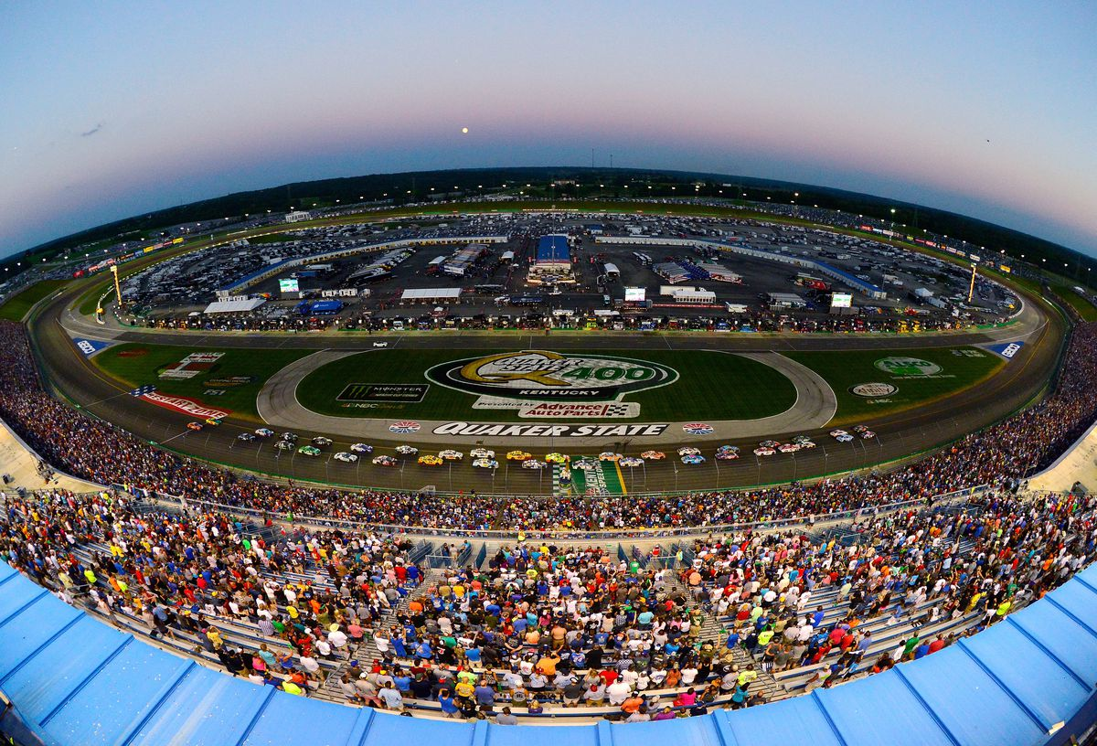 Monster Energy NASCAR Cup Series Quaker State 400 presented by Advance Auto Parts