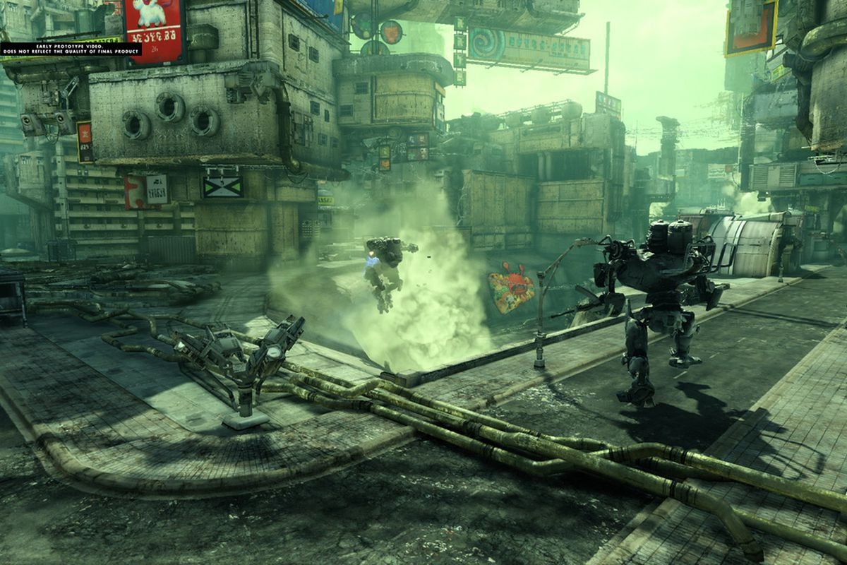 Hawken closed beta access included with Hawken: Genesis graphic