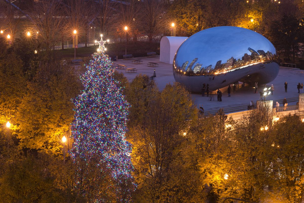 Christmas Lighting.Chicago Christmas Tree Lighting Set For Nov 22 In
