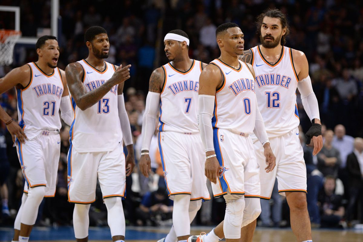 100% authentic c2b6a 67e11 NBA scores 2017: Maybe Steven Adams scoring is the Thunder's ...