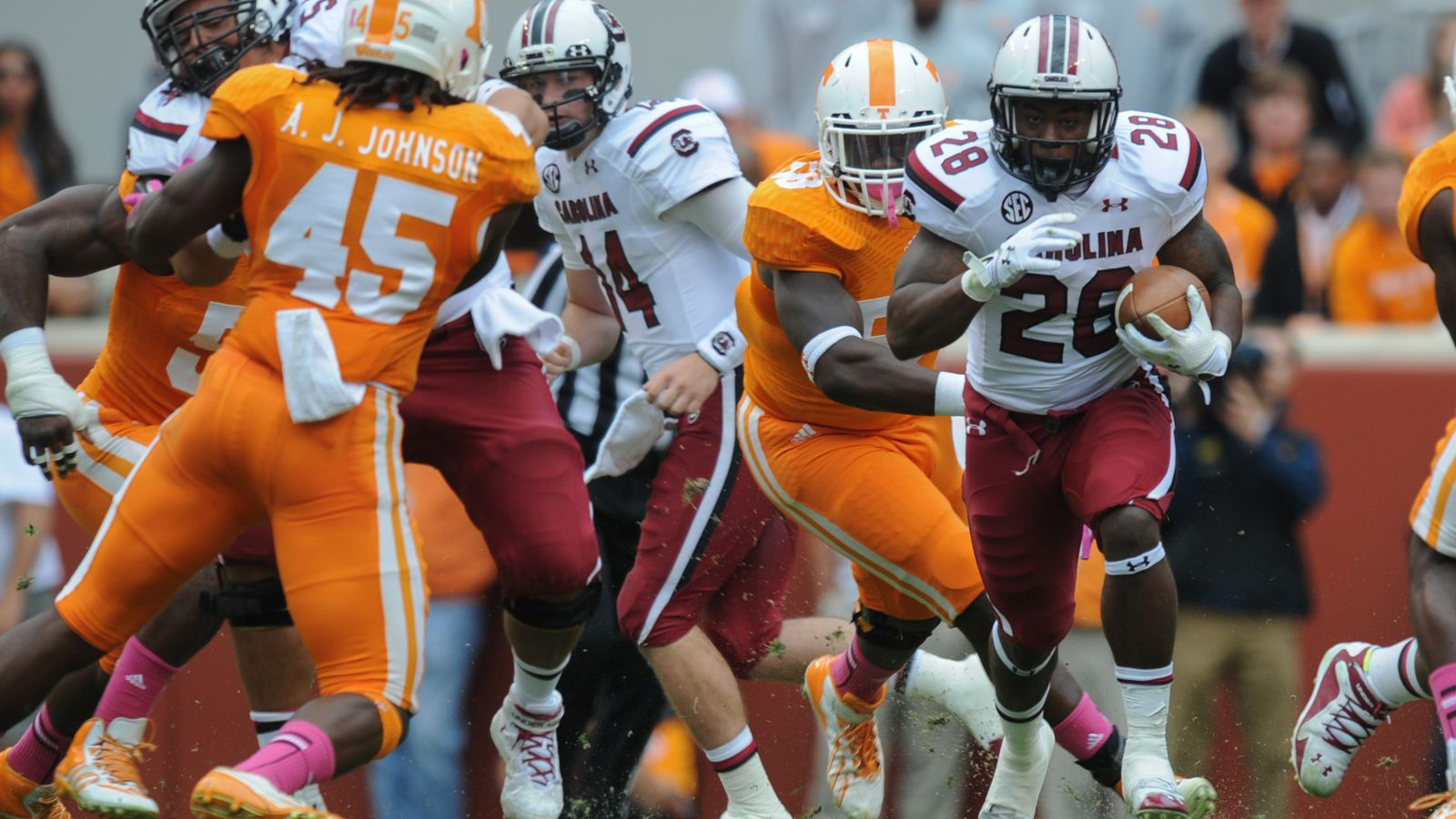 2014 college football betting lines: South Carolina ...