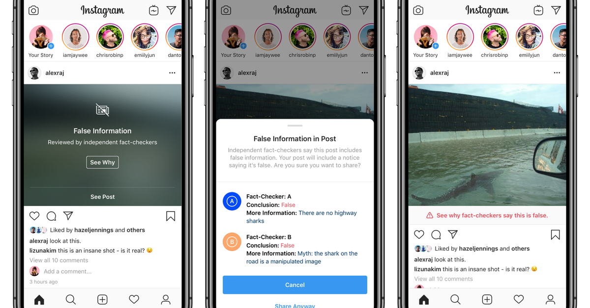 Instagram is hiding faked images, and it could hurt digital artists