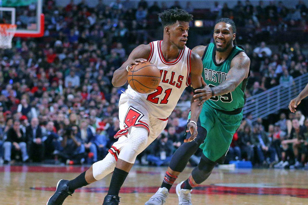 NBA: Boston Celtics at Chicago Bulls
