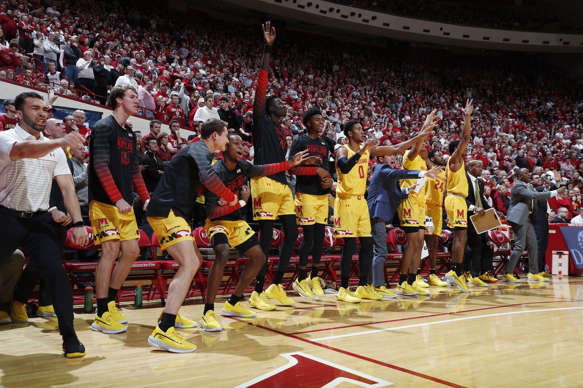 NCAA Basketball: Maryland at Indiana