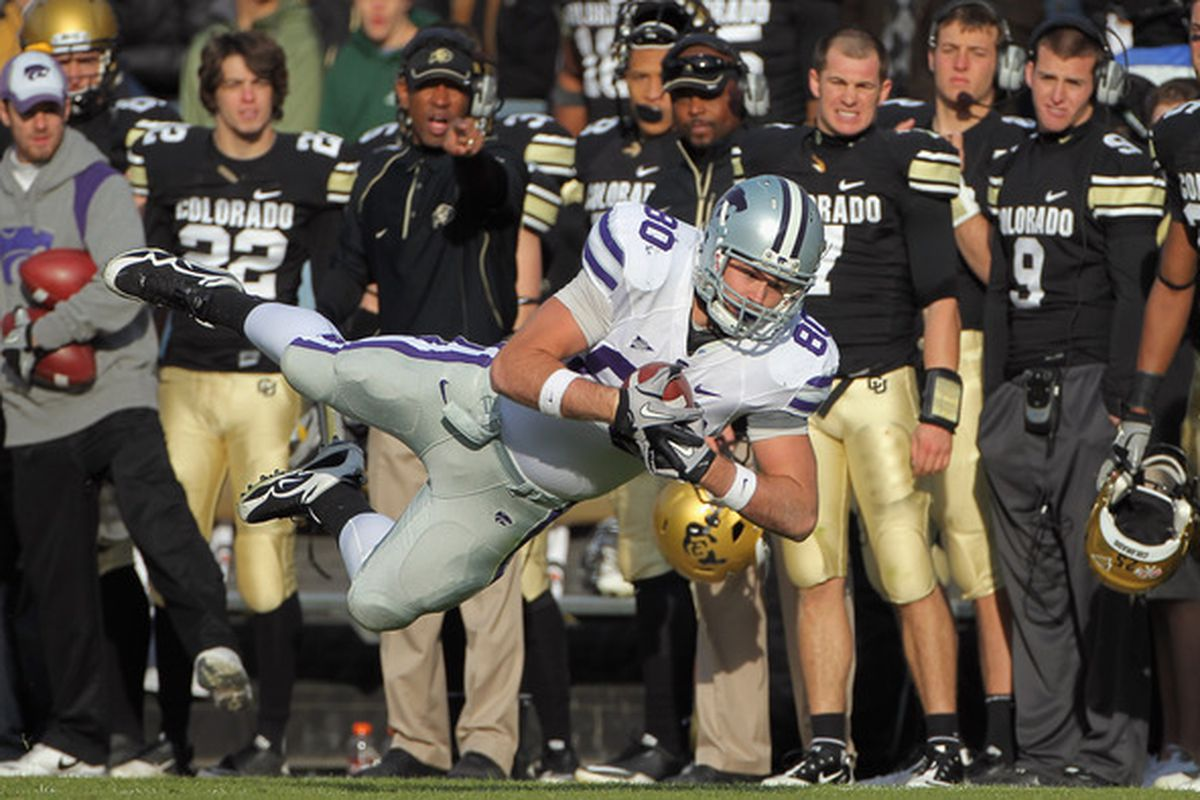 Travis Tannahill: Producing catches like this since September 2009.