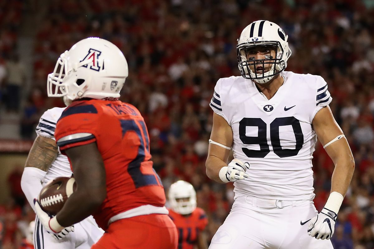 BYU Defensive End Corbin Kaufusi out for the year with a ...