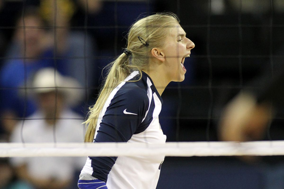 Nele Barber led the way for Marquette against James Madison.