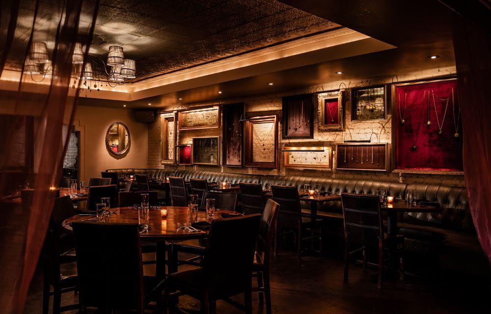The Locket Room inside Beauty & Essex in New York City