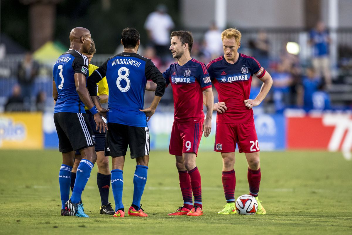 SOCCER: JUL 23 MLS - Fire at Earthquakes