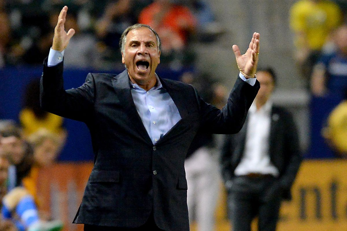 Bruce Arena is not amused