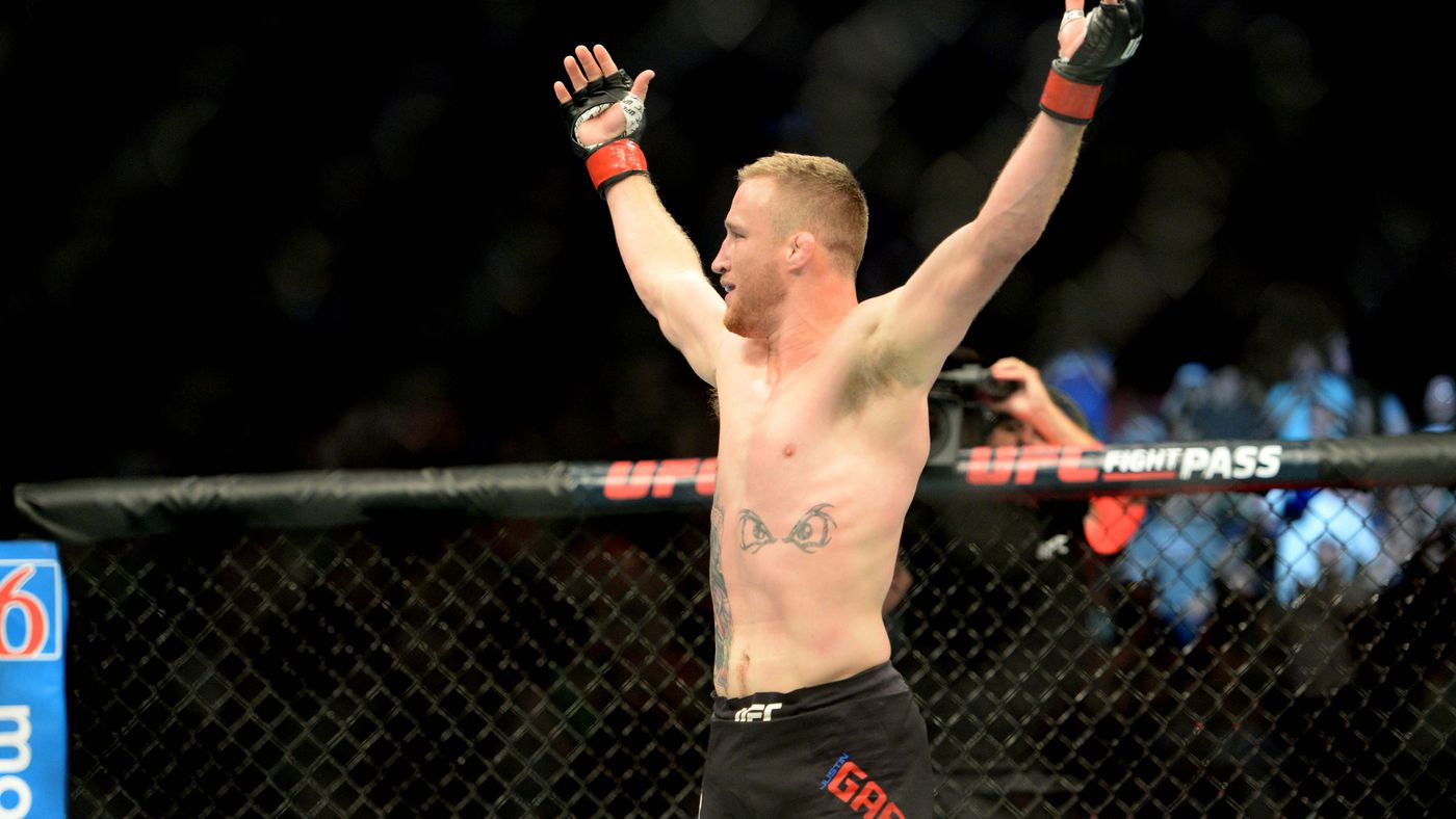 Pros react to Justin Gaethje's vicious KO of James Vick at UFC Lincoln -  Bloody Elbow