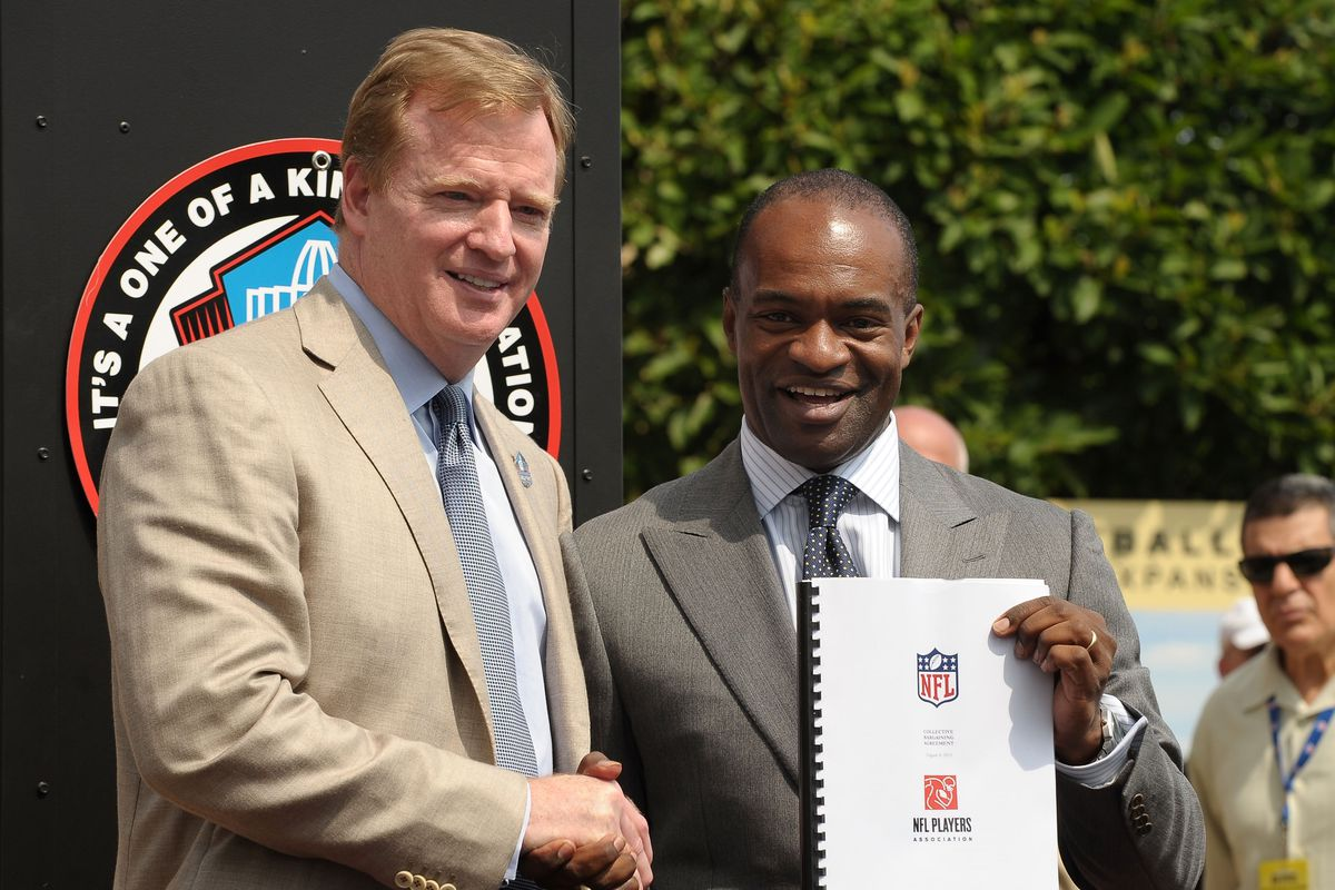 National Football League considering working with NFLPA on marijuana study, potential future use