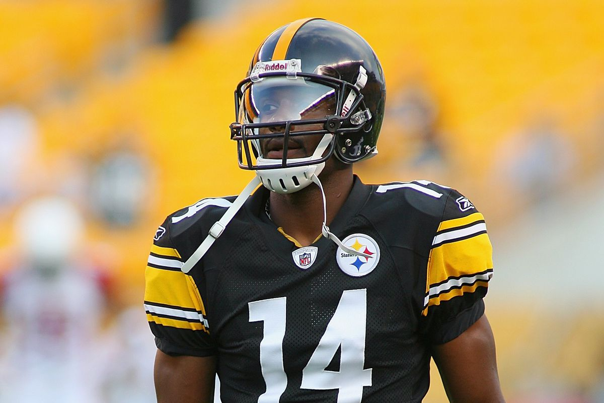 Former Pittsburgh Steelers wide receiver Limas Sweed is