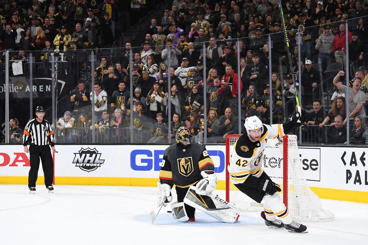 NHL: Boston Bruins at Vegas Golden Knights