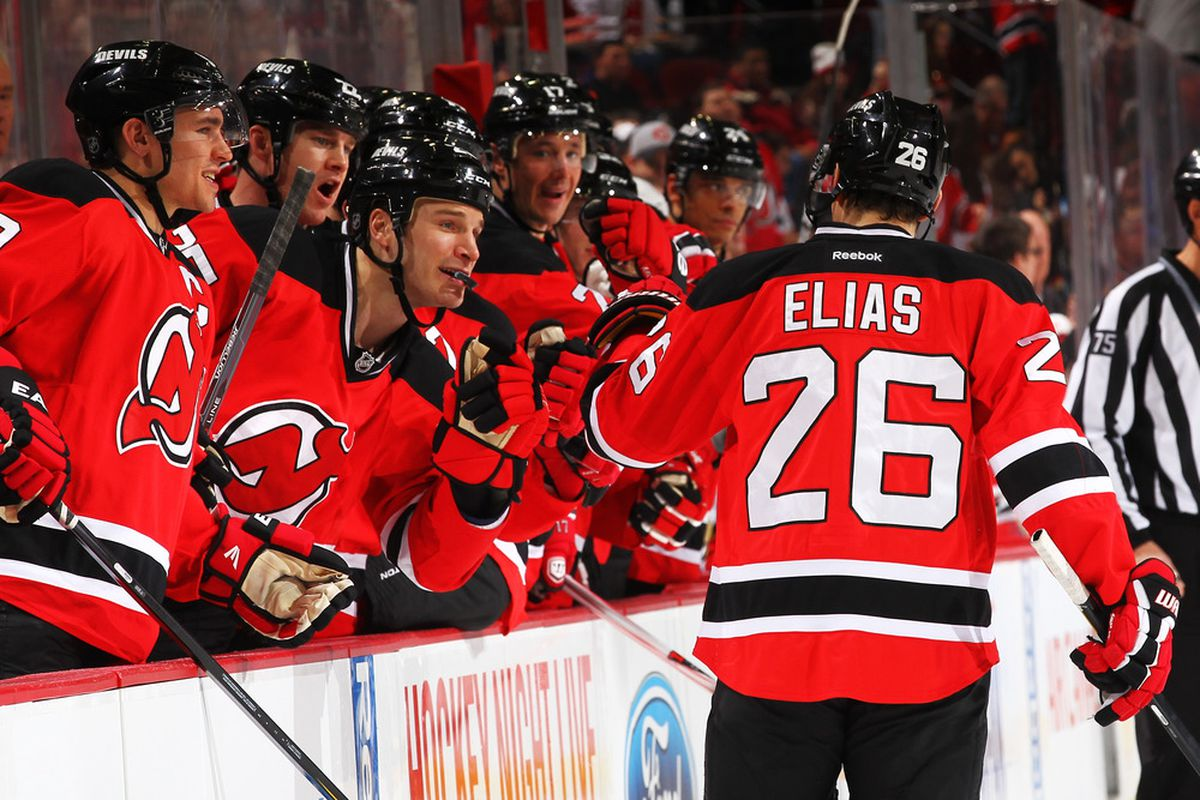 Patrik Elias Sparkled in New Jersey Devils Close 5-2 Win Over Florida  Panthers ed9dd637b