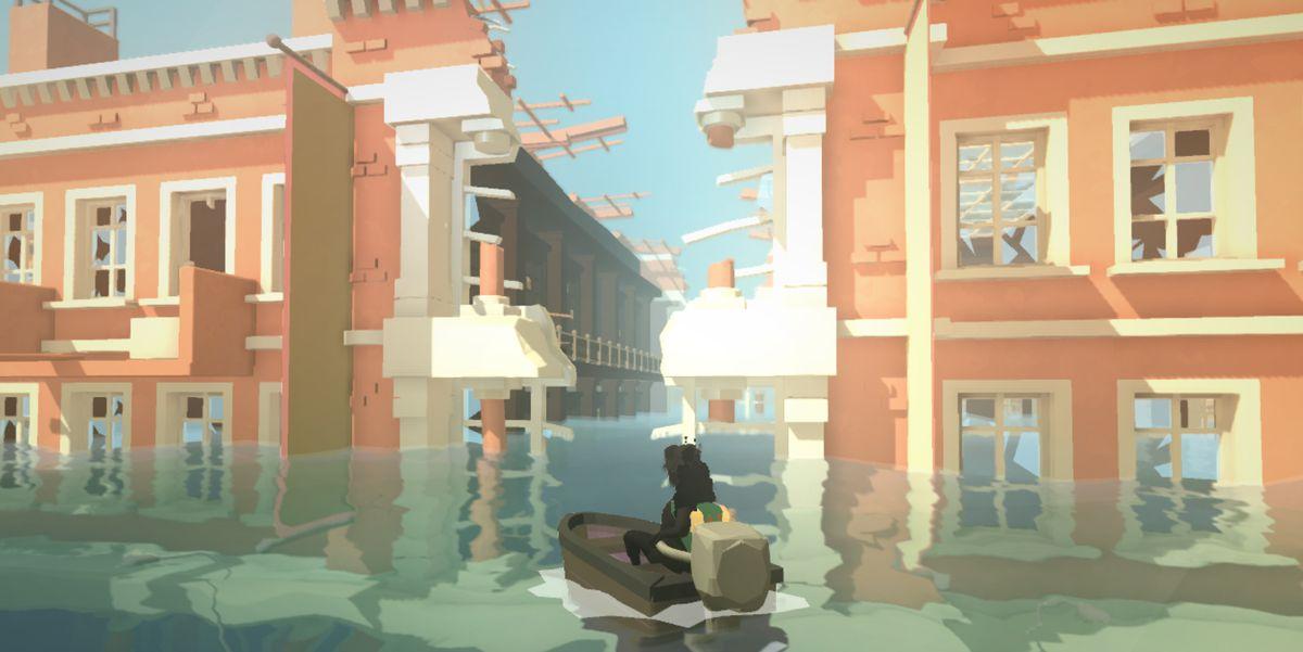 Sea of Solitude building waterway