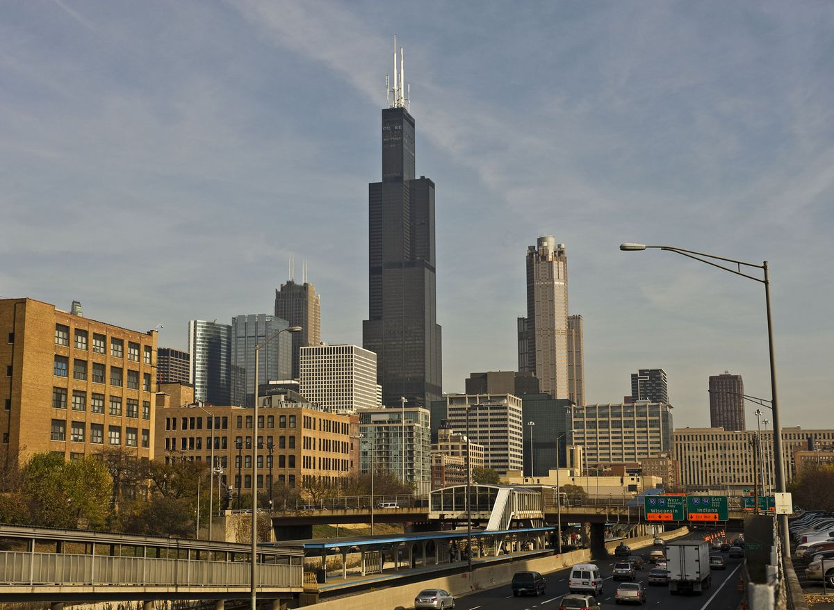 <small><strong>Willis Tower could be knocked down yet another notch. | Sun-Times File Photo</strong></small>