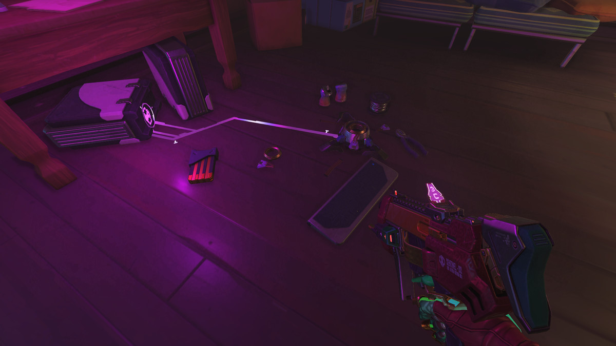 Sombra's her own tech support.