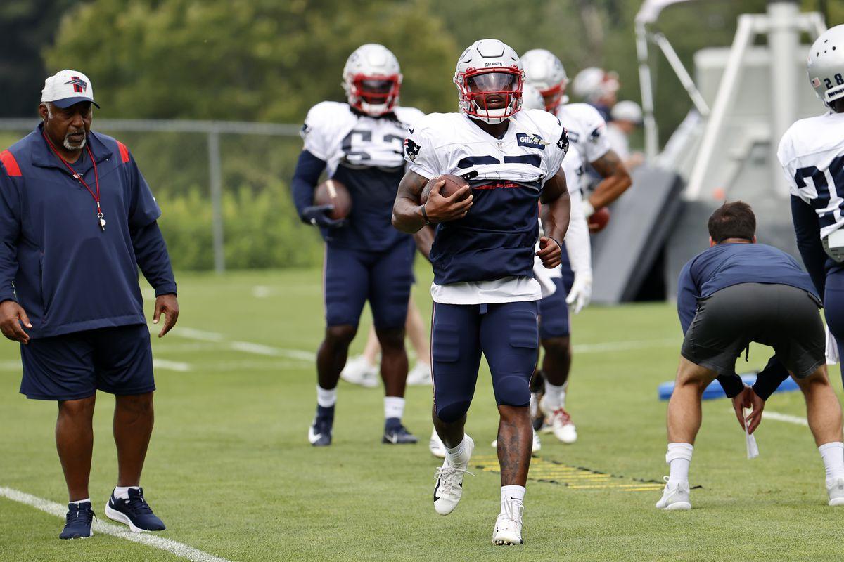 NFL: AUG 08 New England Patriots Training Camp