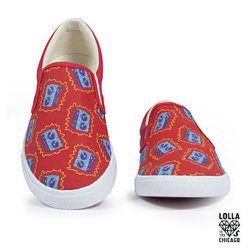 Women's Speaker Sneakers by BucketFeet, $70
