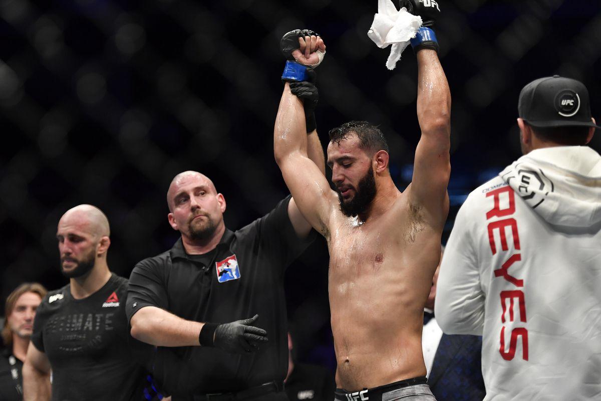 MMA: UFC Fight Night-London-Oezdemir vs Reyes