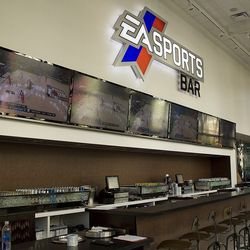 Inside EA Sports Bar at the Cosmopolitan of Las Vegas.