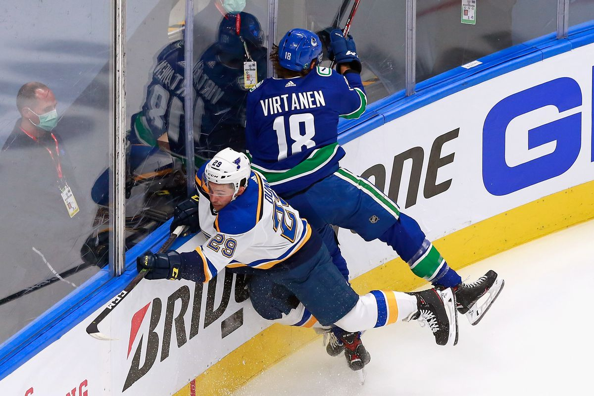 St Louis Blues v Vancouver Canucks - Game Three