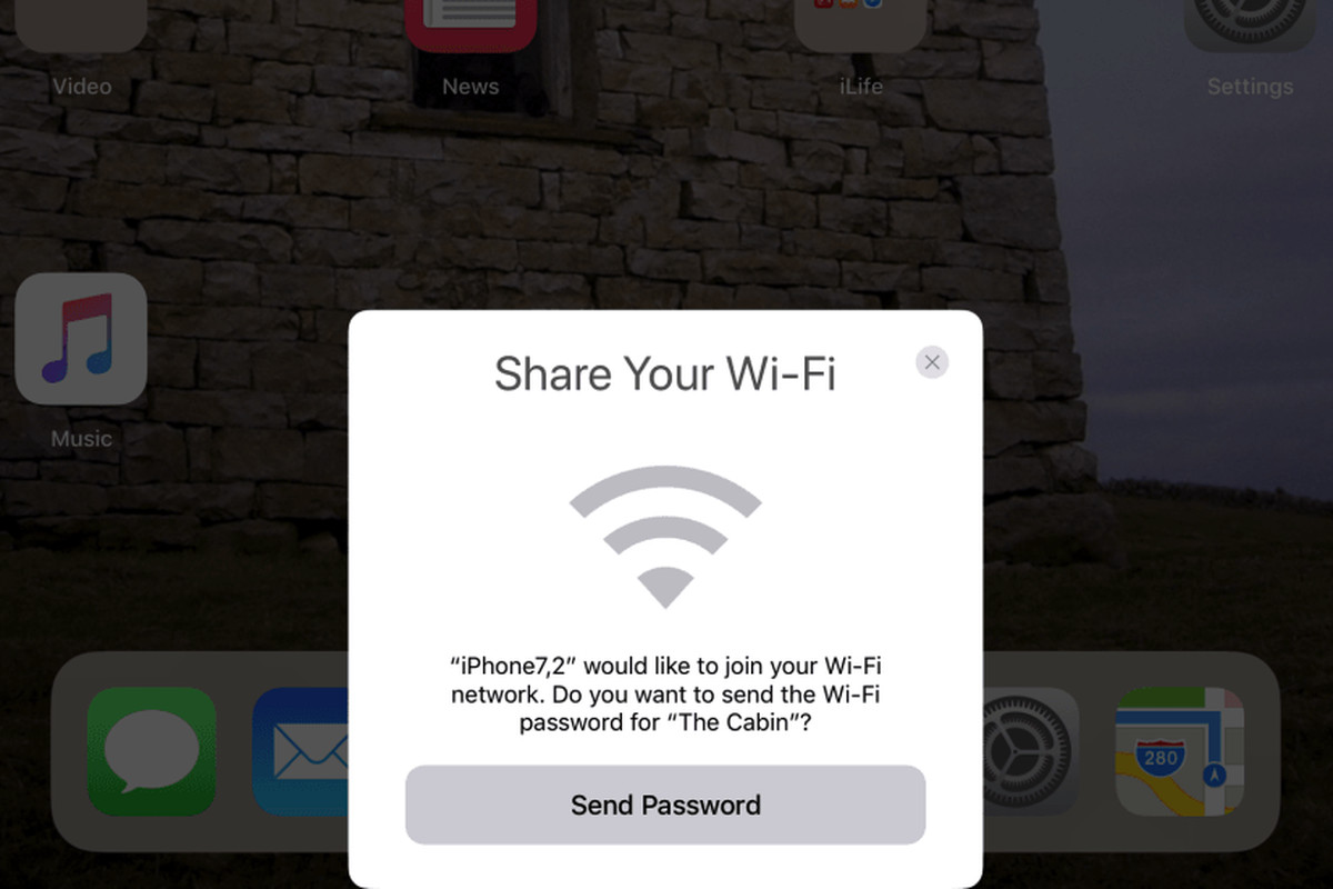 Image result for ios 11 shared wifi