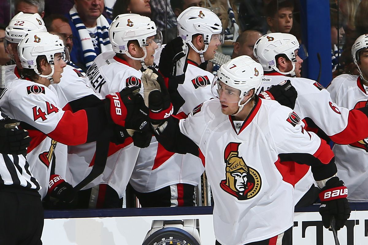 Will I use a Kyle Turris picture everyday this week? Who can say.