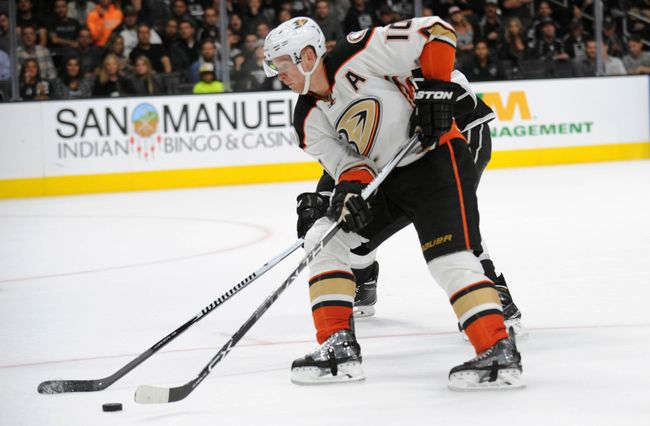 Corey Perry looks to get the Ducks back to the Stanley Cup in 2016. (Courtesy of
