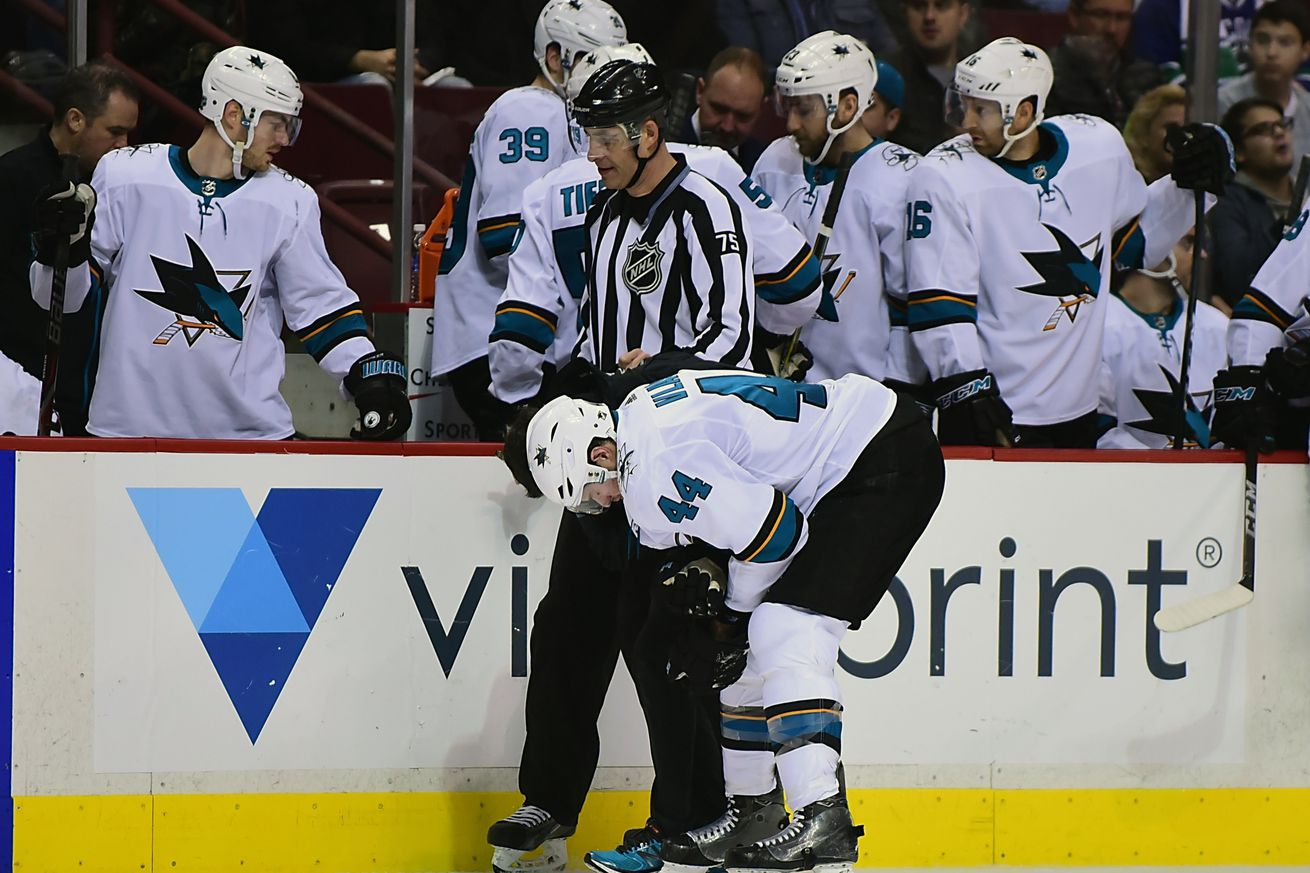 Devils at Sharks Preview: Got to stay healthy