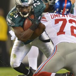 Osi had on-field and verbal battles with LeSean McCoy
