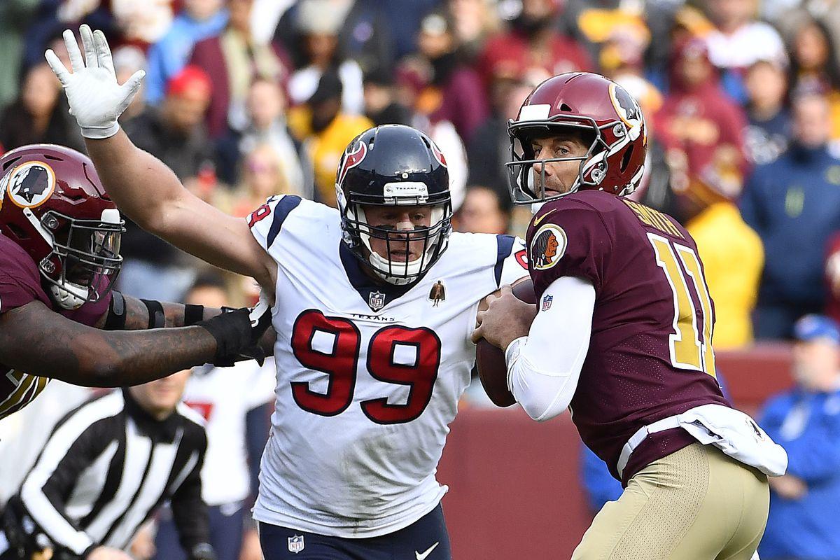 NFL: Houston Texans at Washington Redskins