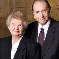 President and Sister Monson.