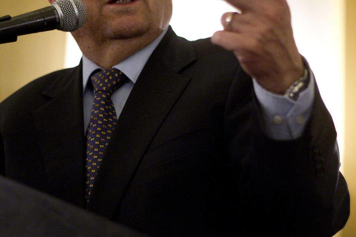 Israel's Defense Minister Ehud Barak delivers a speech to the Foreign Press Association members in Jerusalem, Monday, April 30, 2012.