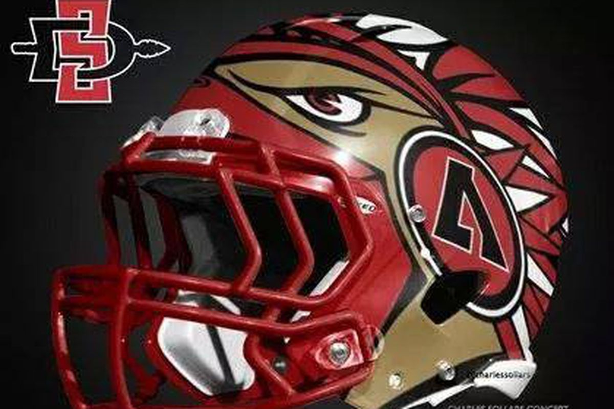 Is this one of two new SDSU helmets