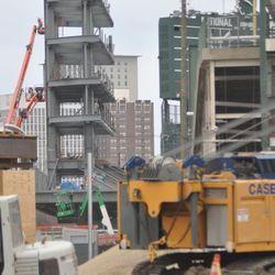 View from Waveland and Clark -
