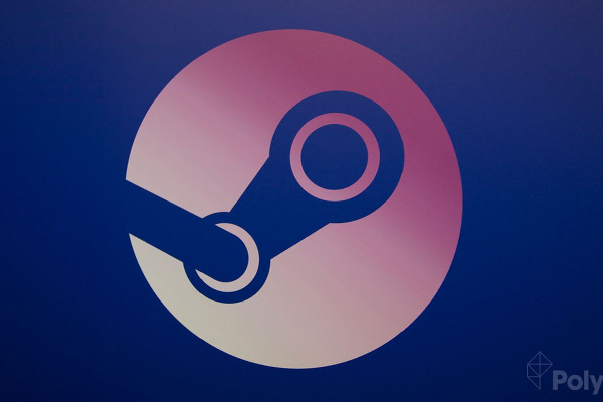 Steam Universe logo on blue background