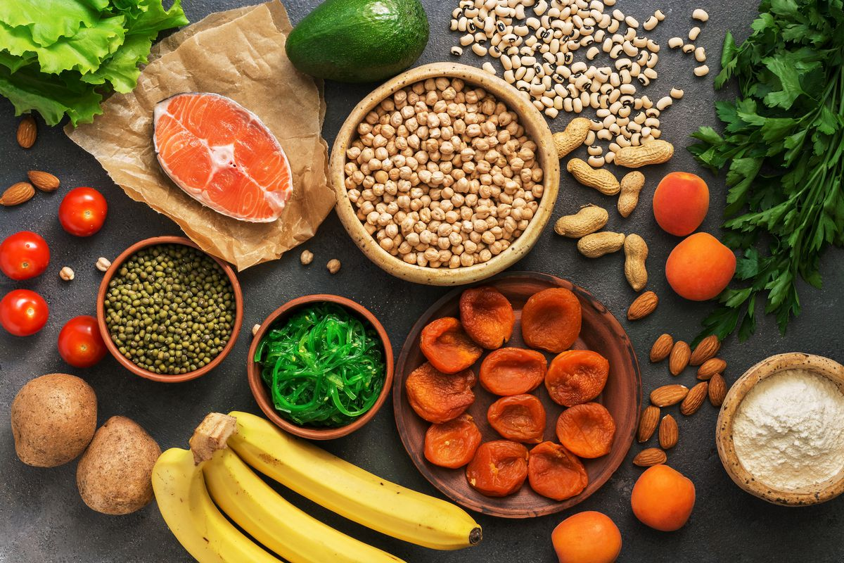 Many fruits and vegetables are high in potassium. Avocados, bananas, potatoes and vegetable juices are some of the richest sources.