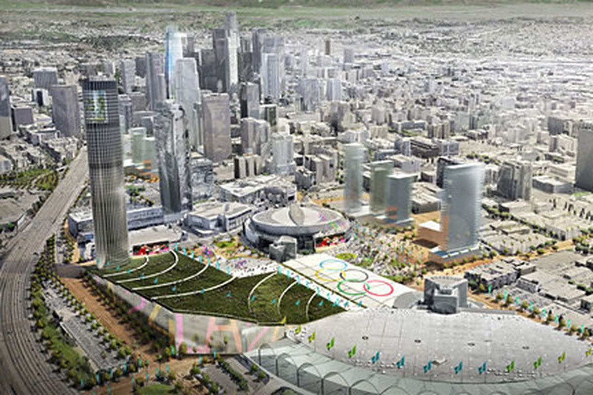 20 Very Big Deal Plans in Los Angeles's New 20 Olympics Bid ...