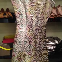 Metallic dress, $79