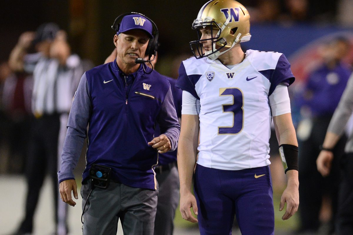 No. 12 Washington rumbles through UCLA in 44-23 blowout