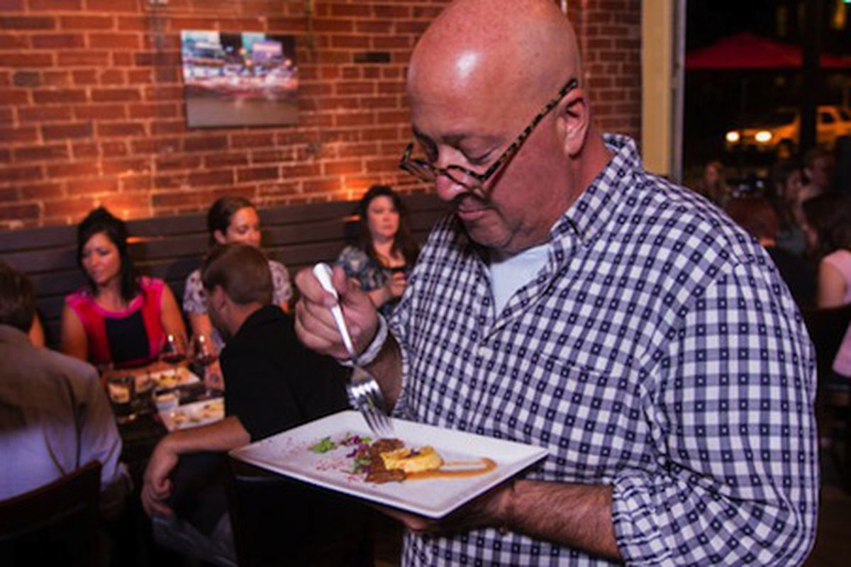 Andrew Zimmern at P17
