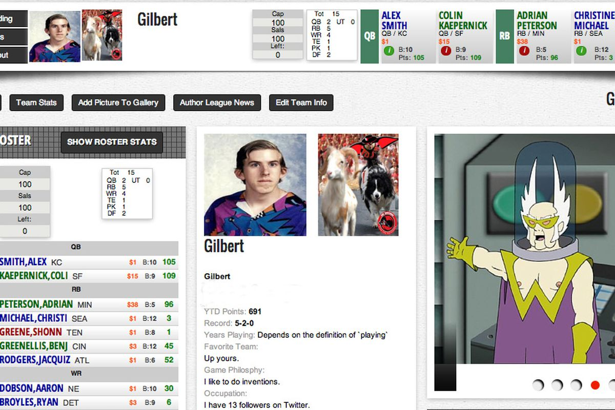 WIll the real Gilbert please stand up?
