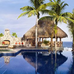 """A pool at <a href=""""http://palmilla.oneandonlyresorts.com/"""">One & Only Palmilla Resort</a> in Cabo, where Heidi Montag and Spencer Pratt honeymooned."""