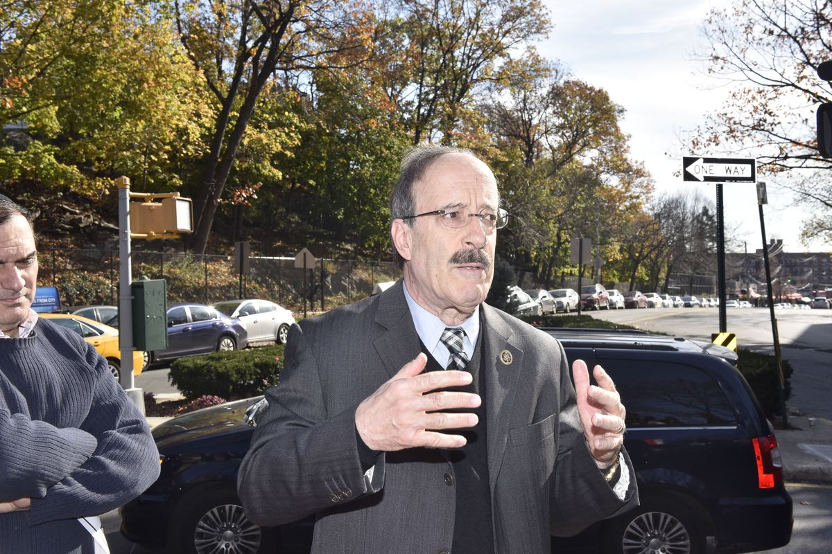 Rep. Eliot Engel, who may soon lead the House Foreign Affairs committee, attends a memorial vigil for victims of the Paris terror attack on November 15, 2015 in New York City.