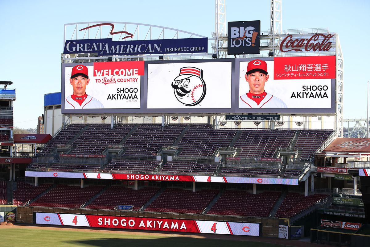 Cincinnati Reds Introduce Shogo Akiyama