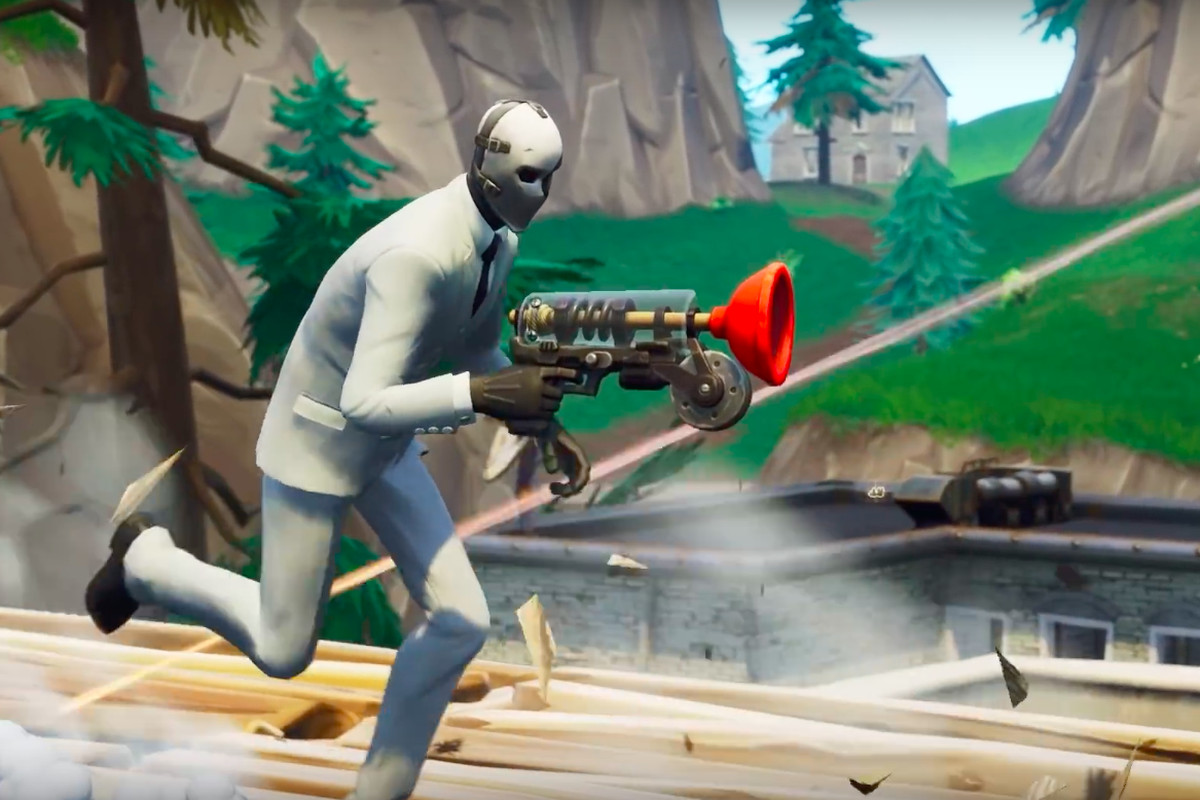 Fortnite's new grappler weapon gives players game-changing