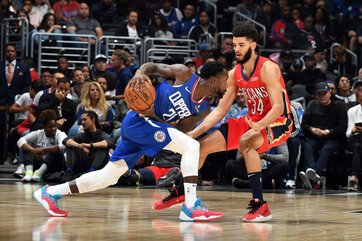 Clippers Vs Pelicans Preview Rising Pels Are No Easy Out