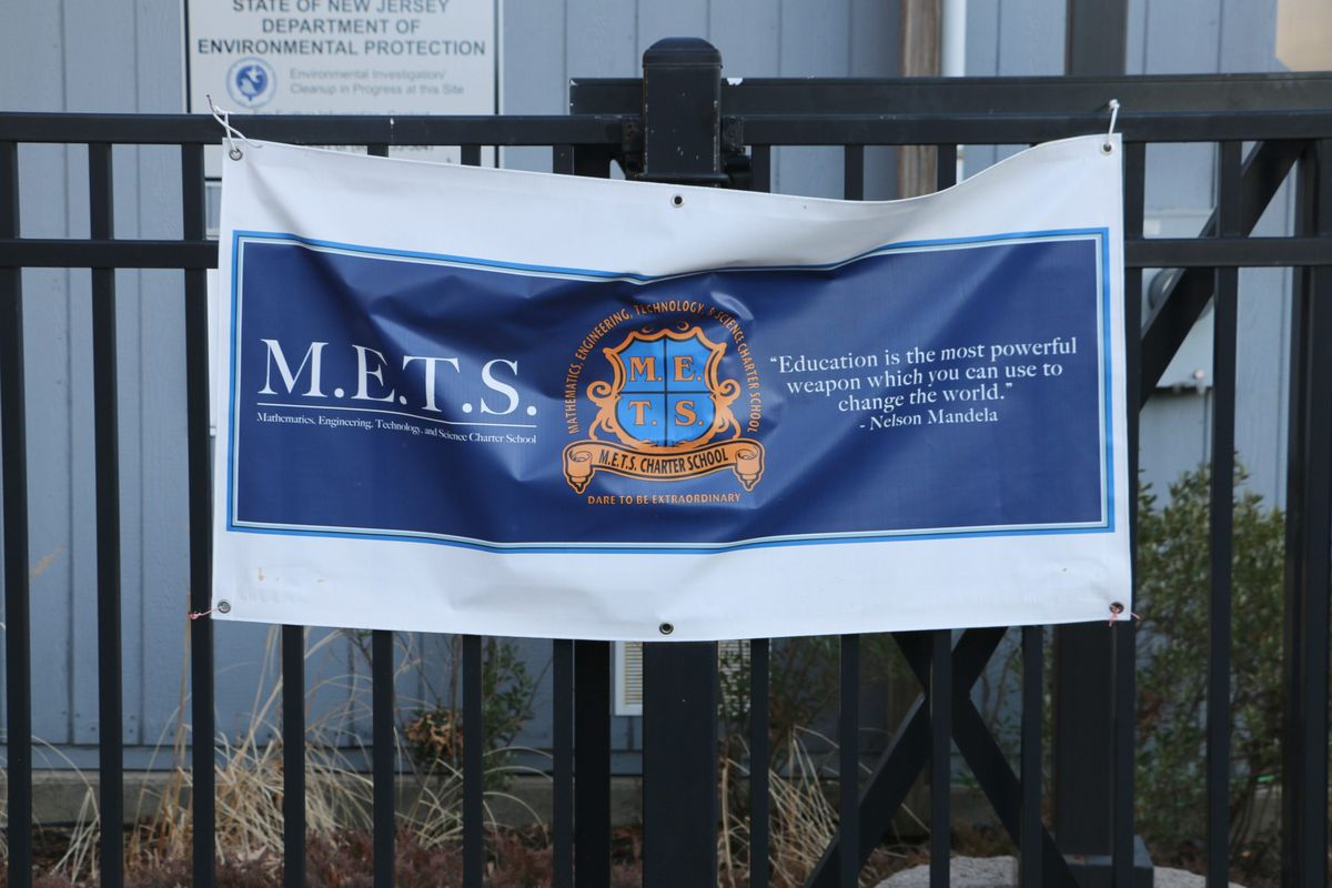 M.E.T.S. Charter School, which has schools in Jersey City and Newark (pictured), faced multiple state investigations and struggled for years with leadership instability, low academic achievement, and enrollment challenges before the state decided to close the school this month.